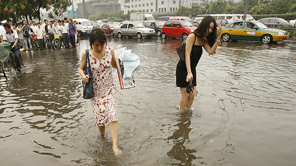 Why are Chinese cities flooding?