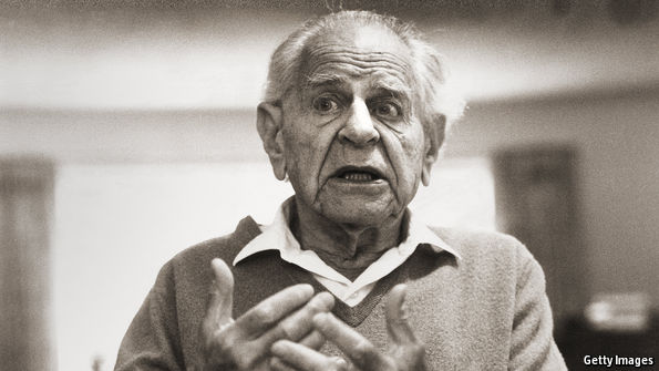 democracy according to karl popper As a philosopher of science, karl popper was unique, among 20th century  political  i will discuss how democracy and dissent must work together so that  the.