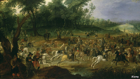 What happened in the Thirty Years War?