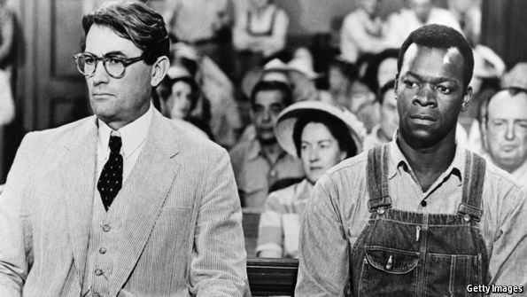 what chapter in to kill a mockingbird is the trial
