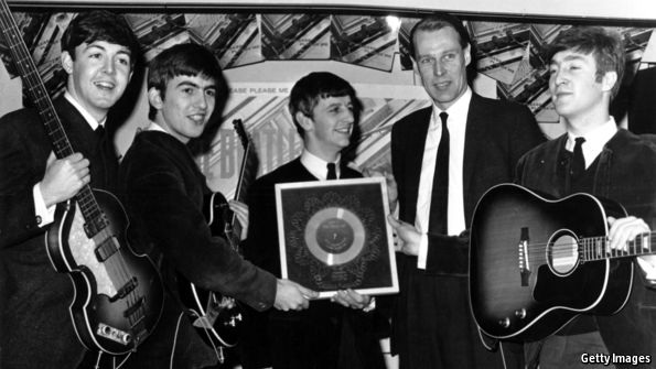 How George Martin earned his title as the fifth Beatle