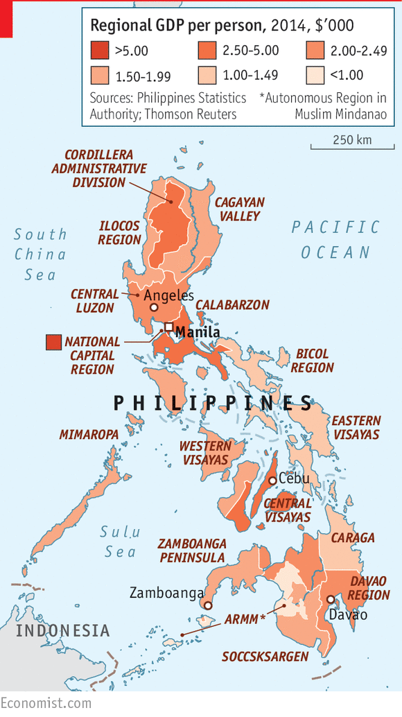 A guide to the Philippines history economy and politics  Daily