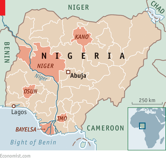 Running out of road Nigerias struggling states