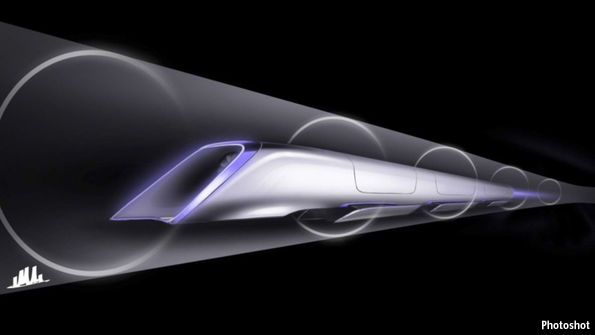 Dubai is to test the feasibility of hyperloop trains