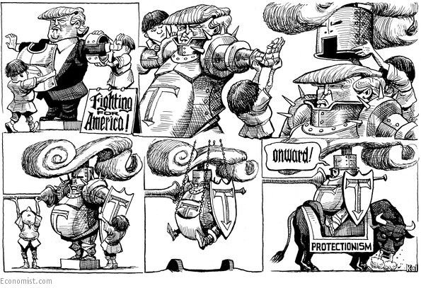 Image result for KAL's cartoon protectionism