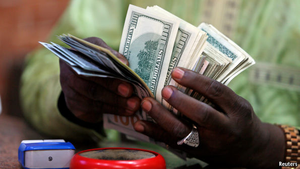 Nigeria's foreign-currency shortage