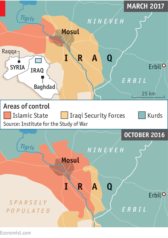 The Iraqi army is on the brink of defeating Islamic State