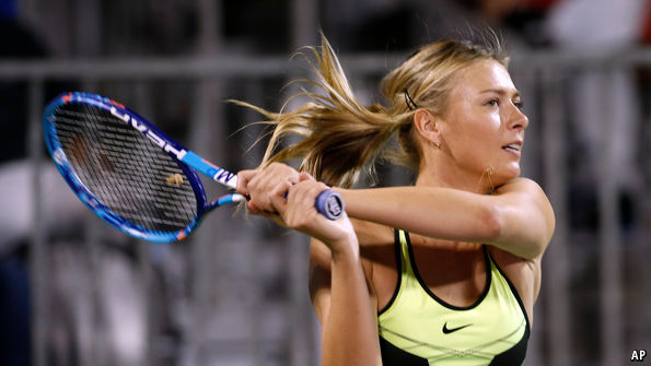 Sharapova tennis Maria