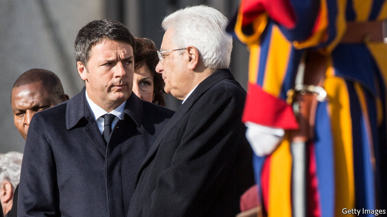 Italy is drifting back to its old fragmented politics