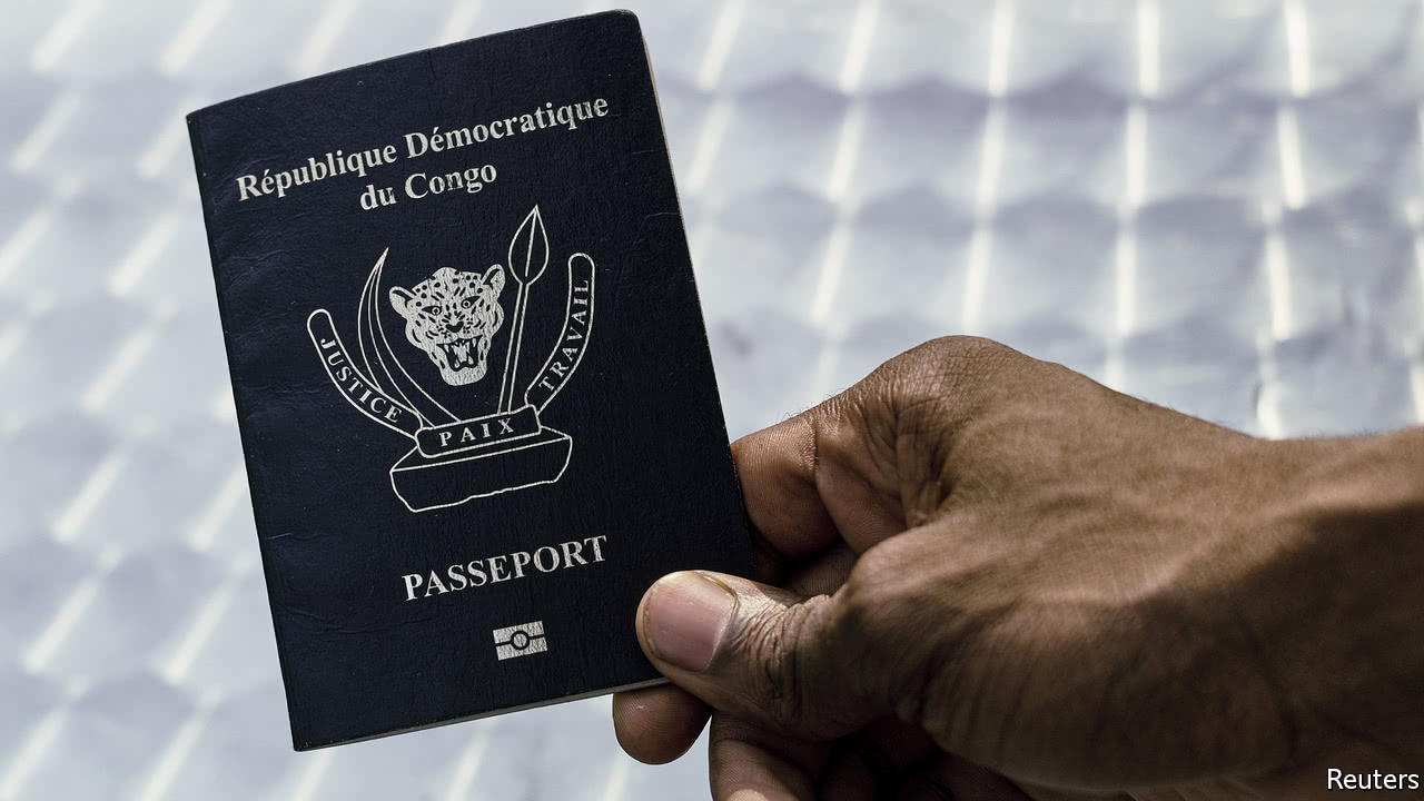 The Challenges Of Getting A Real Passport In Africa - Real map us in africa