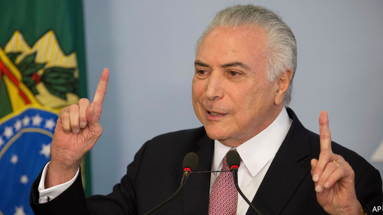 The president Temer will not participate in the G20