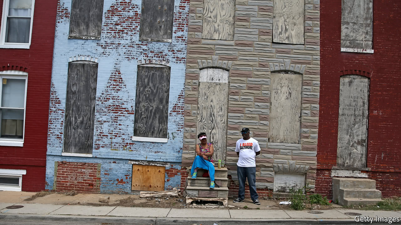 Crime and despair in Baltimore - An exceptionally murderous city