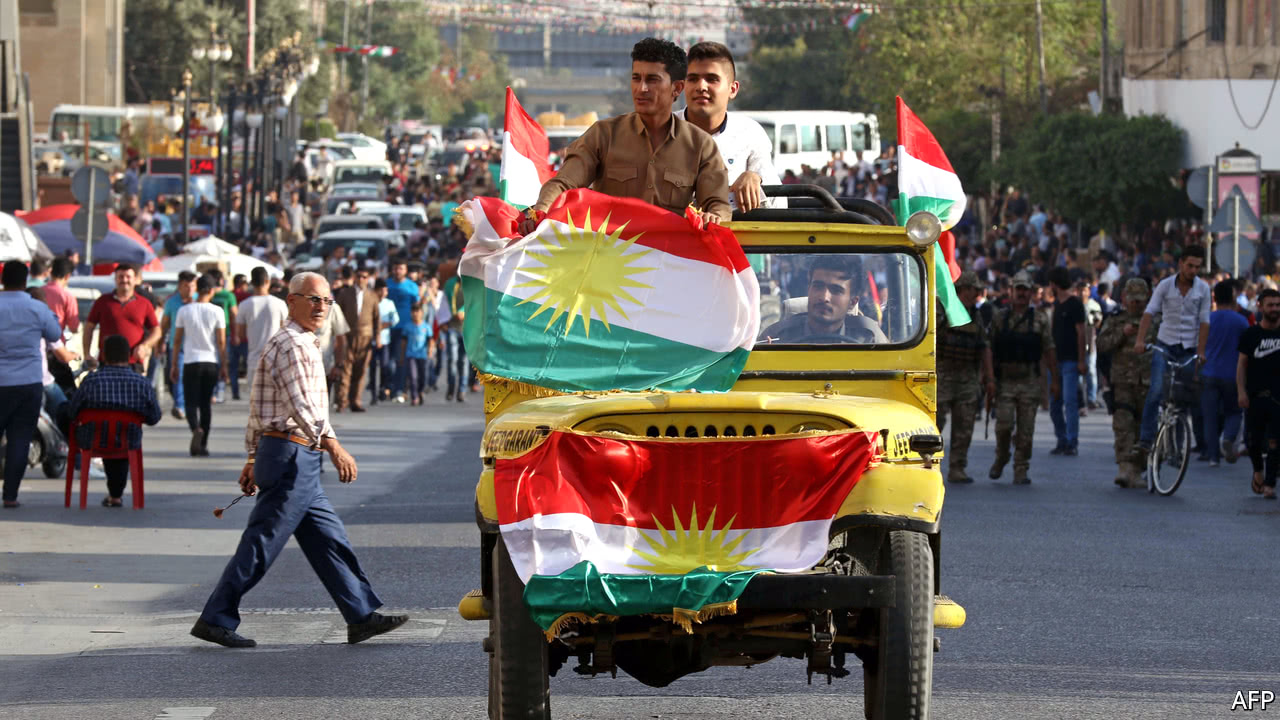 A Kurdish Referendum On Independence Risks Backfiring - What does this map tells us about african independence