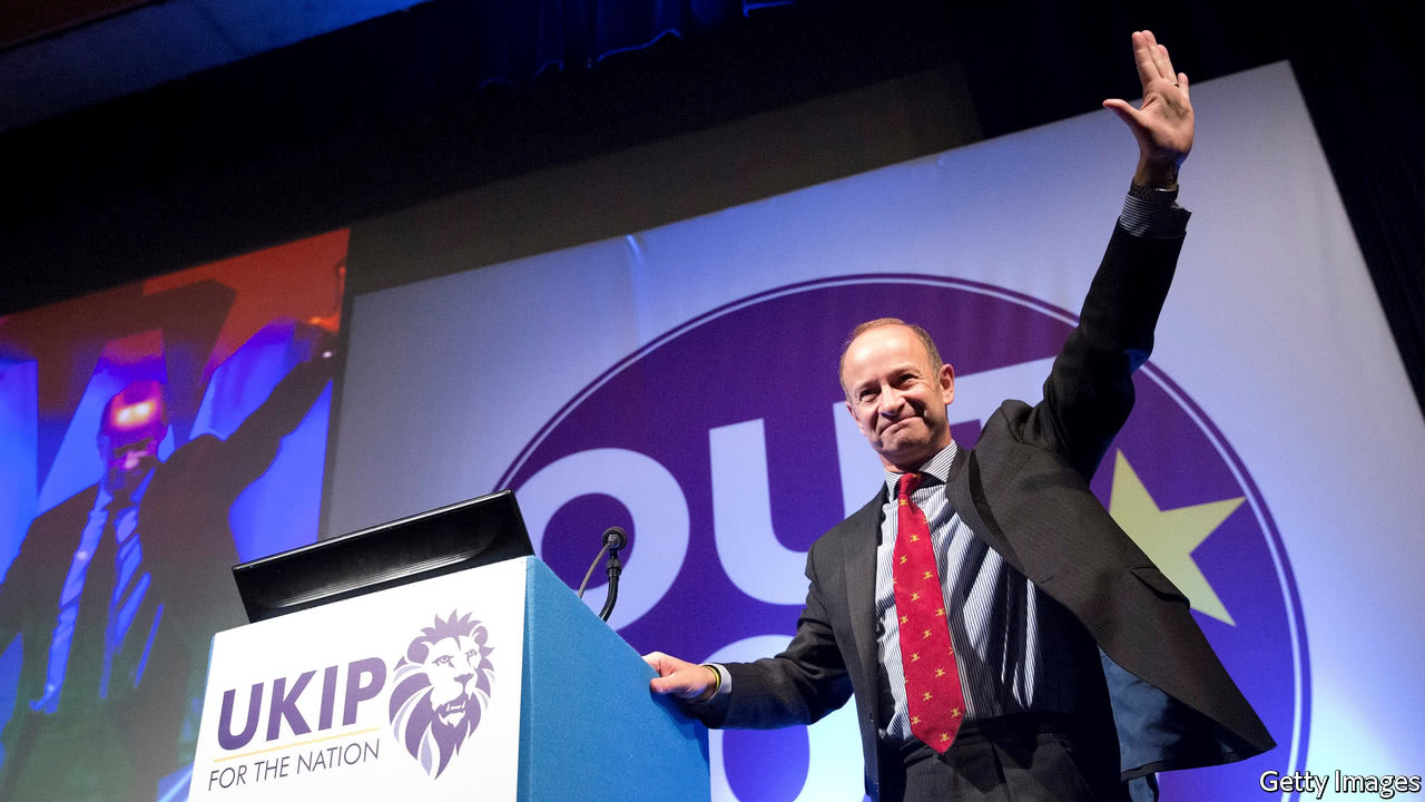 Brexit is our core task says new Ukip leader Henry Bolton