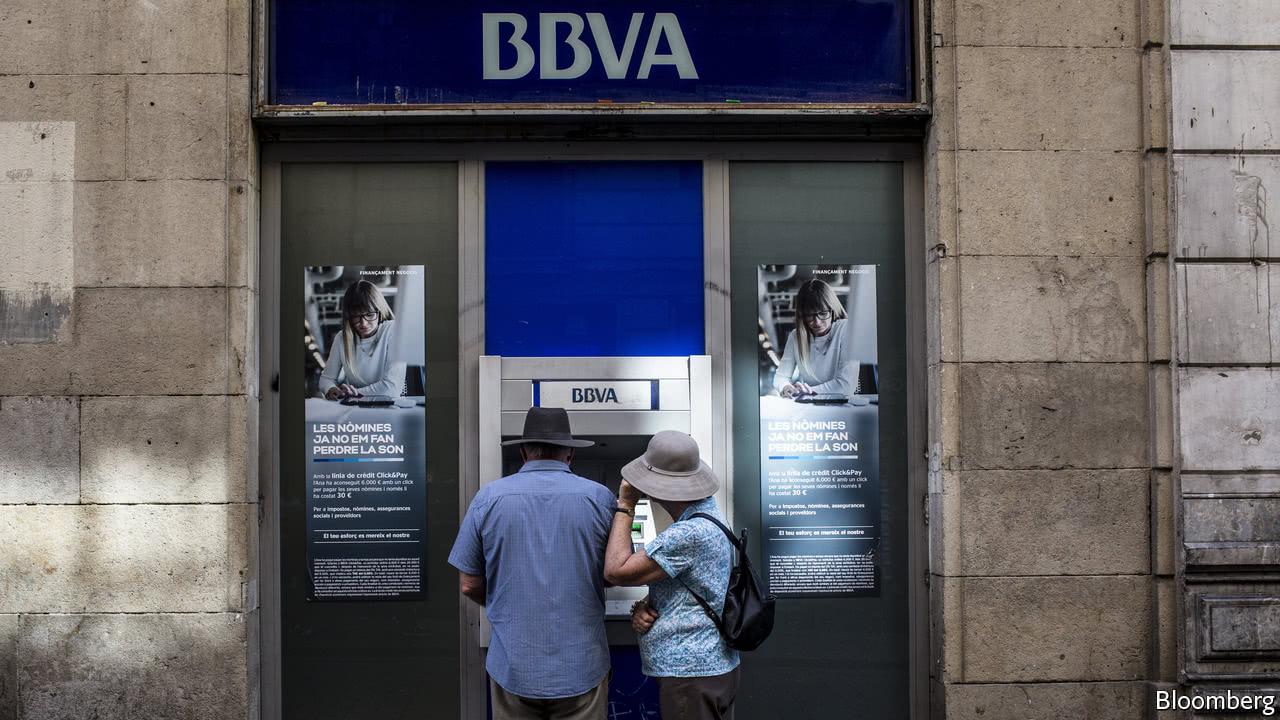 BBVA, a Spanish bank, reinvents itself as a digital business