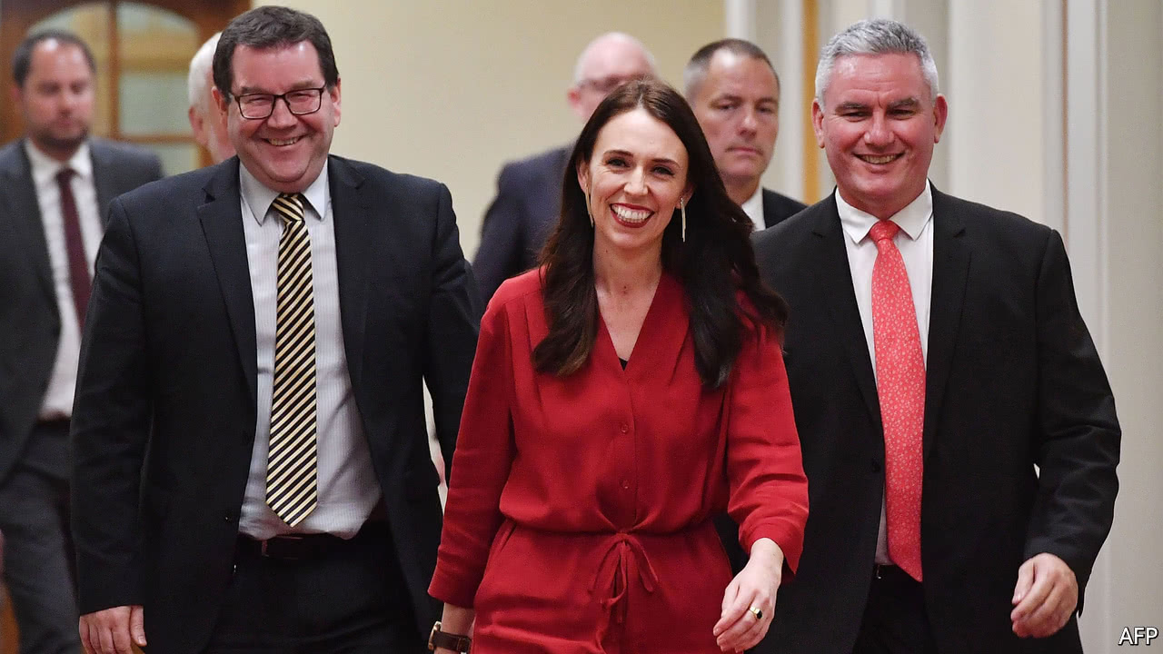 New Zealand's Labour Party turns defeat into triumph