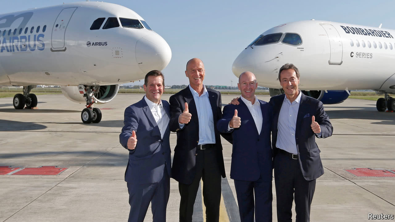 Airbus has no plans to buy out Bombardier stake, says CEO