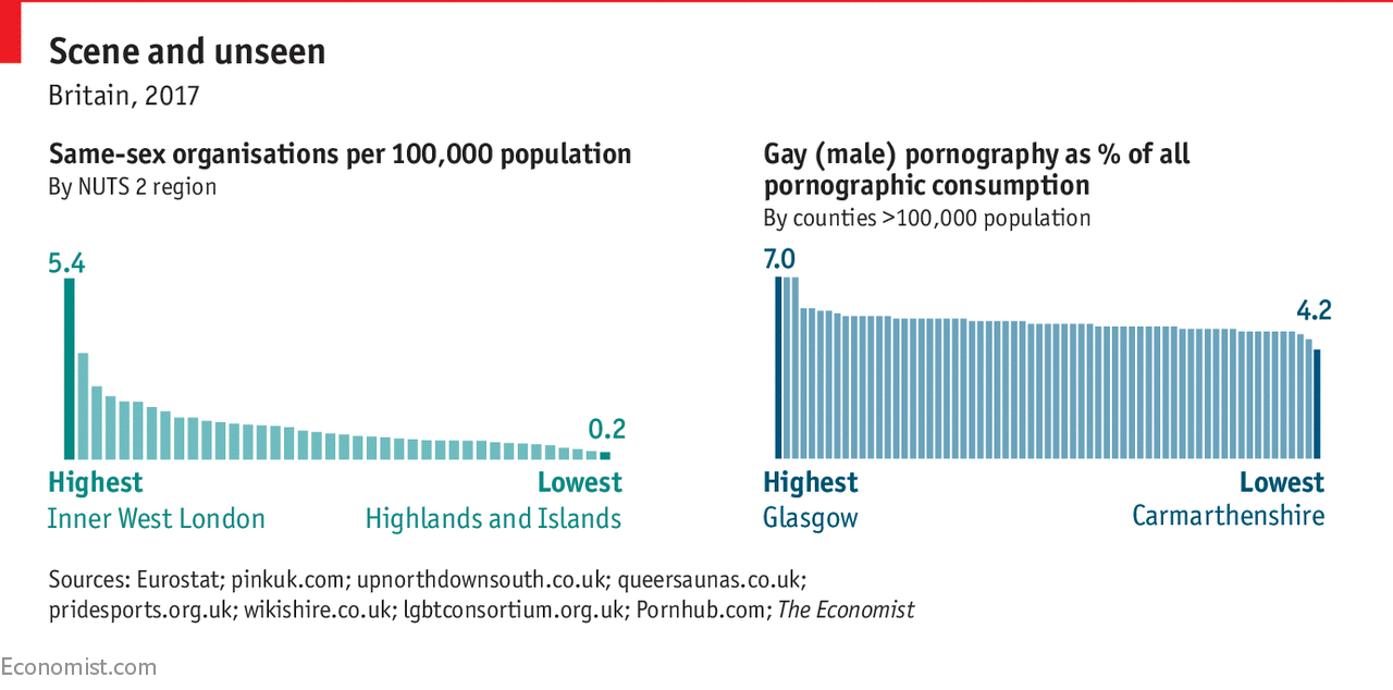 What porn and listings sites can tell us about Britain's gay population