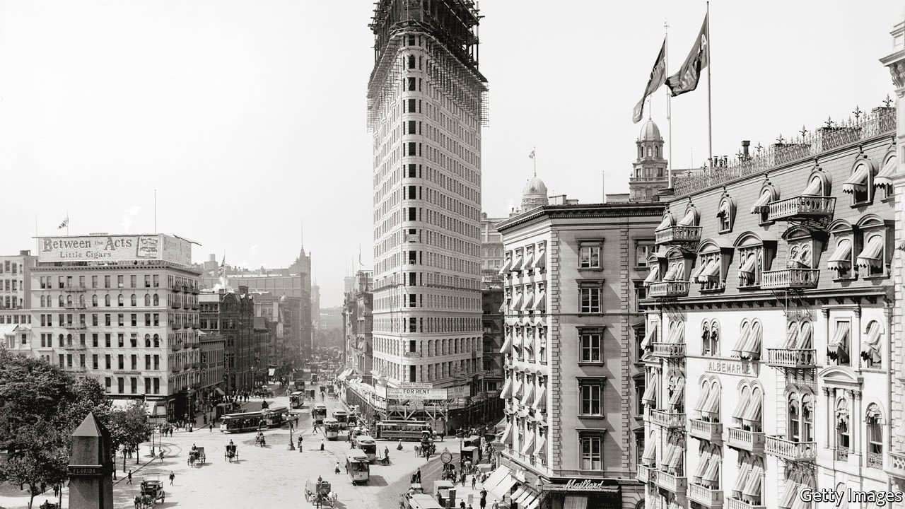A gripping history of New York - Bigger and brighter