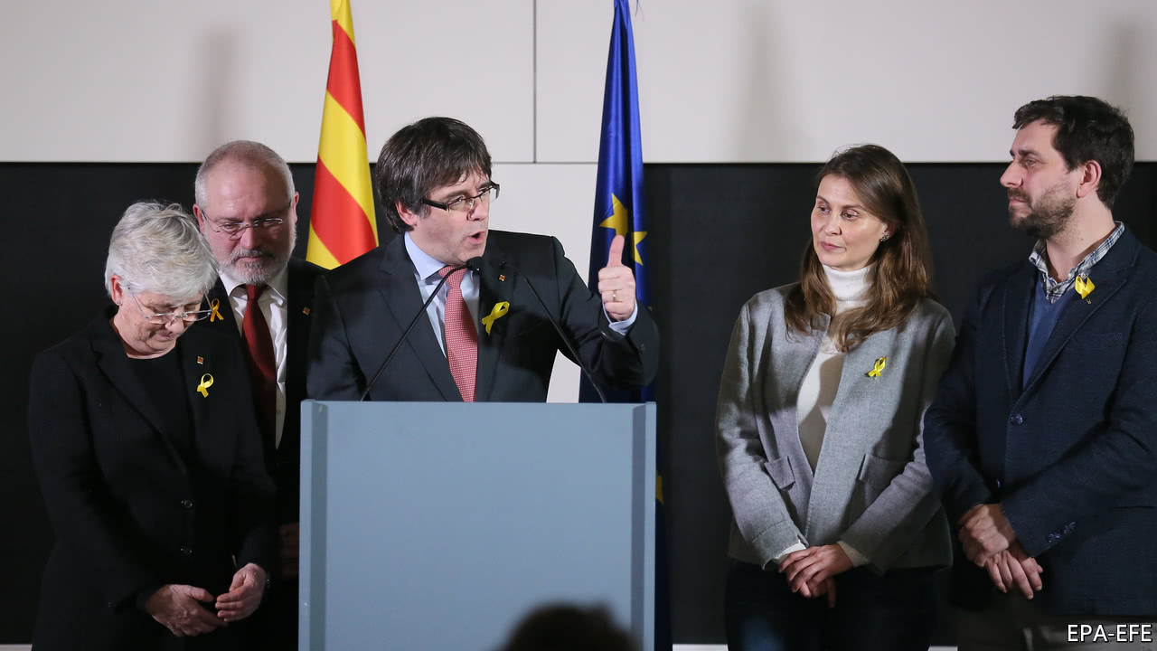 Catalonia election: Puigdemont seeks talks with Spain