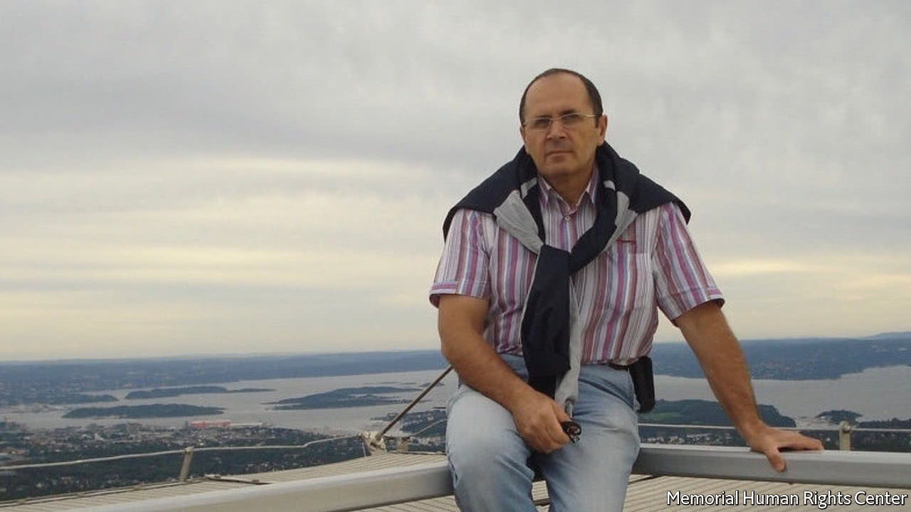 Chechnya moves to silence Oyub Titiev, a courageous critic