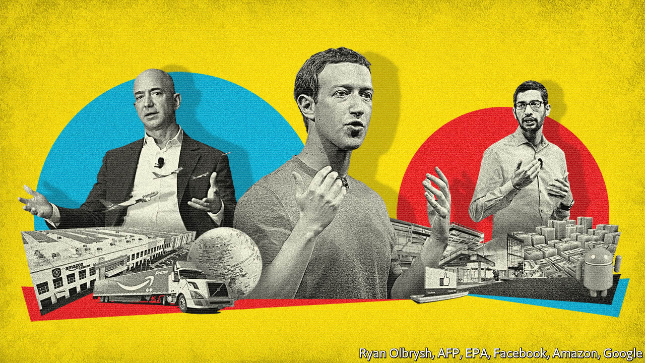 The techlash against Amazon, Facebook and Google—and what they can do