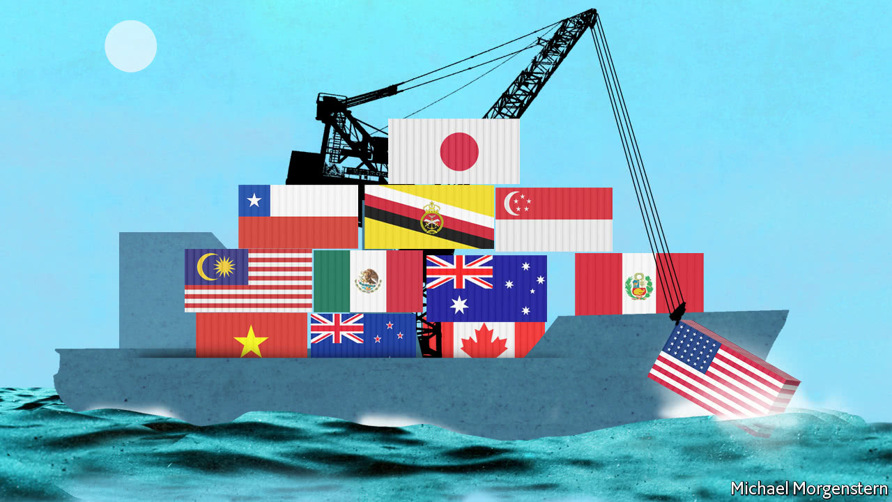 Trans-Pacific trade deal to proceed without US