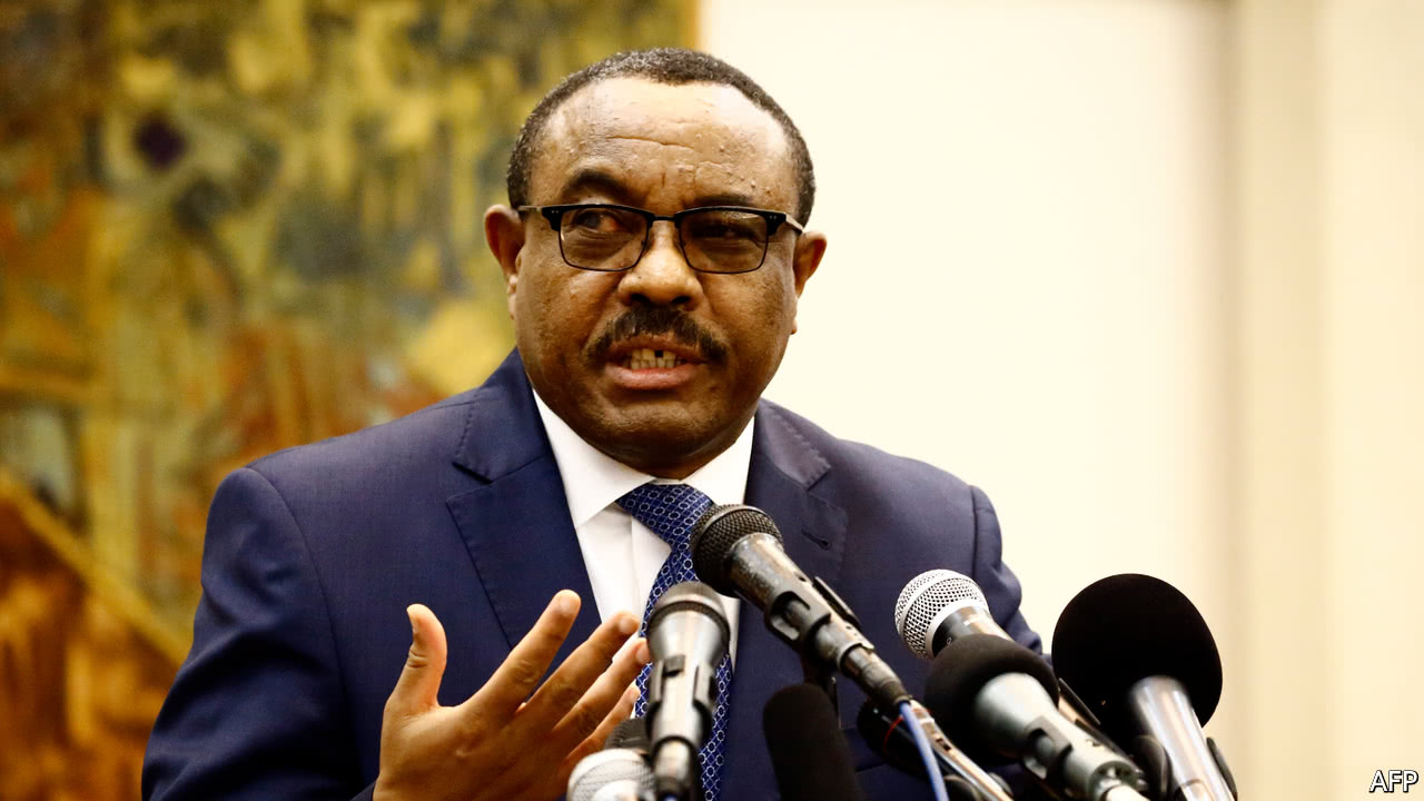 Ethiopia prime minister in surprise resignation amid growing protests