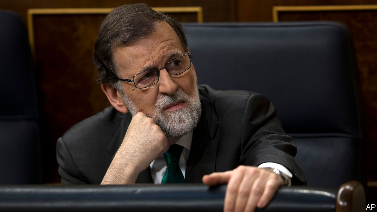 Spanish PM Mariano Rajoy ousted