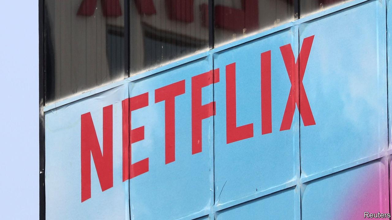 economist.com - Netflix suffers a big wobble