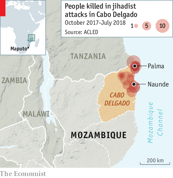 A bubbling Islamist insurgency in Mozambique could grow deadlier ...