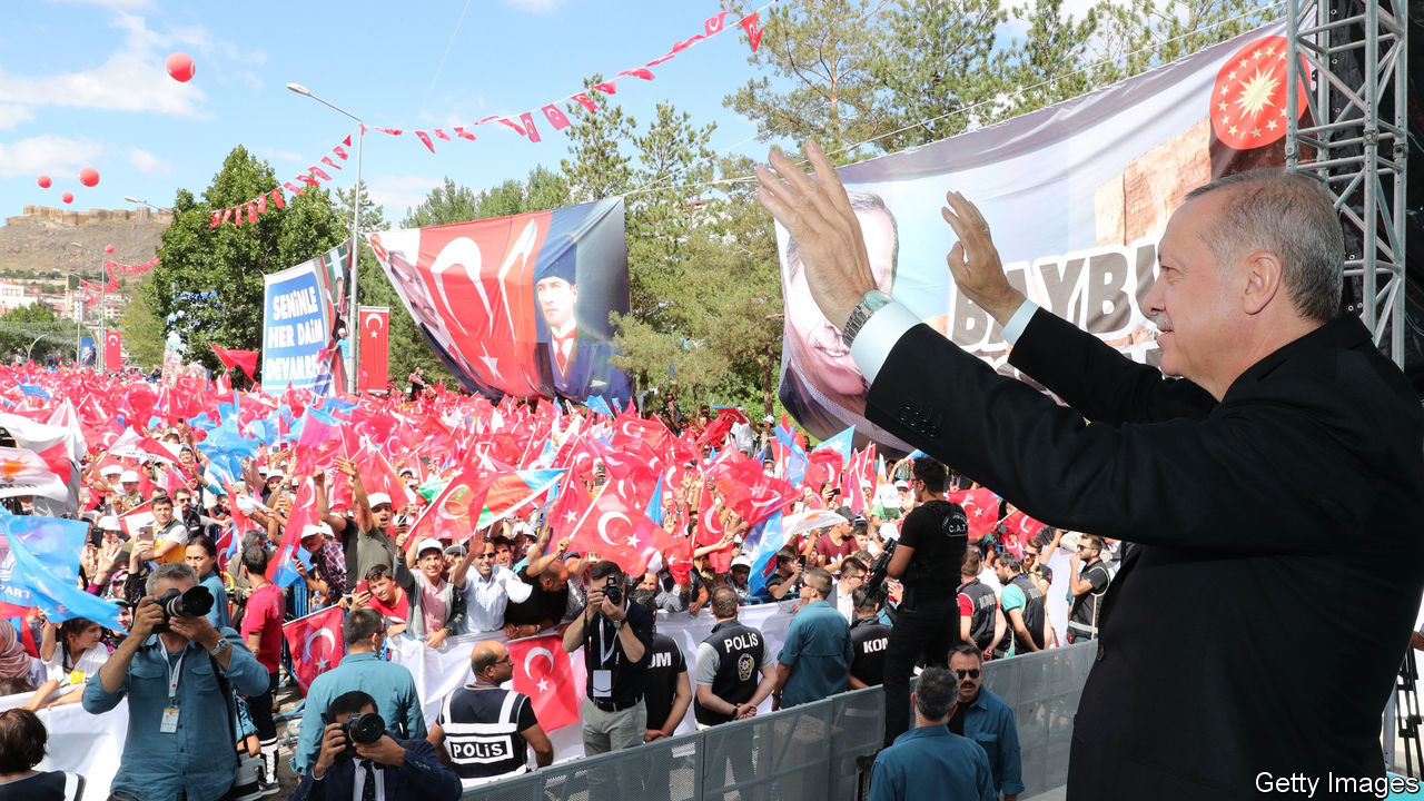 Donald Trump has thrown the Turkish lira under the bus