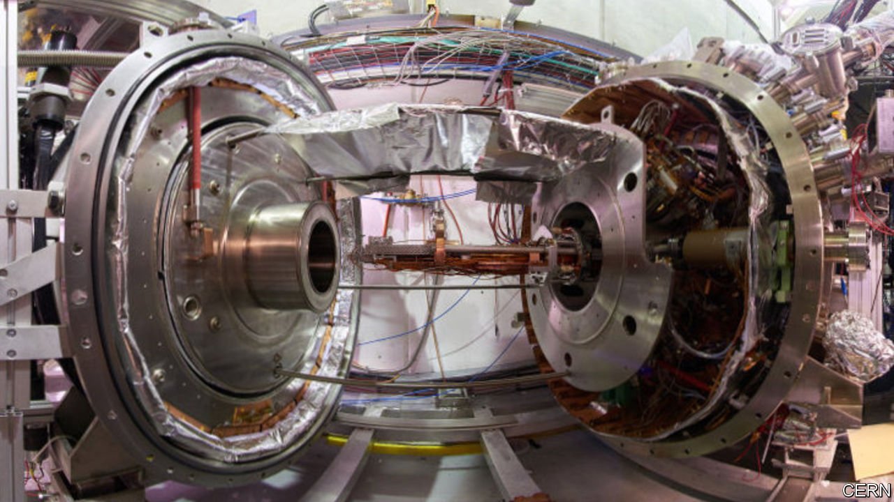 Physicists investigate why matter and antimatter are not mirror images