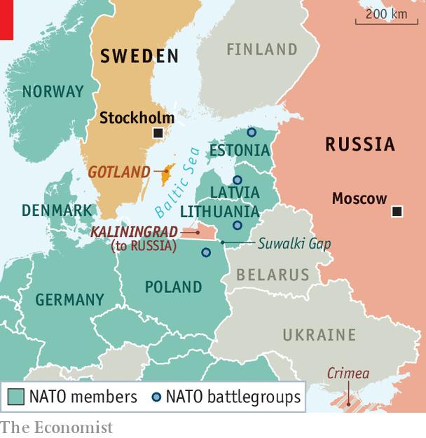 Baltic Europe Map.The Baltics Fear European Strategic Autonomy Charlemagne In
