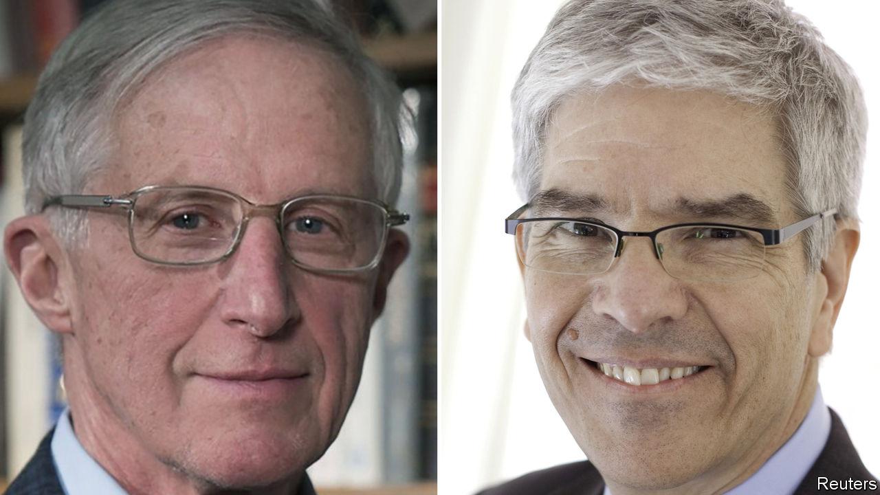 Image result for 20 18 Economics Nobel