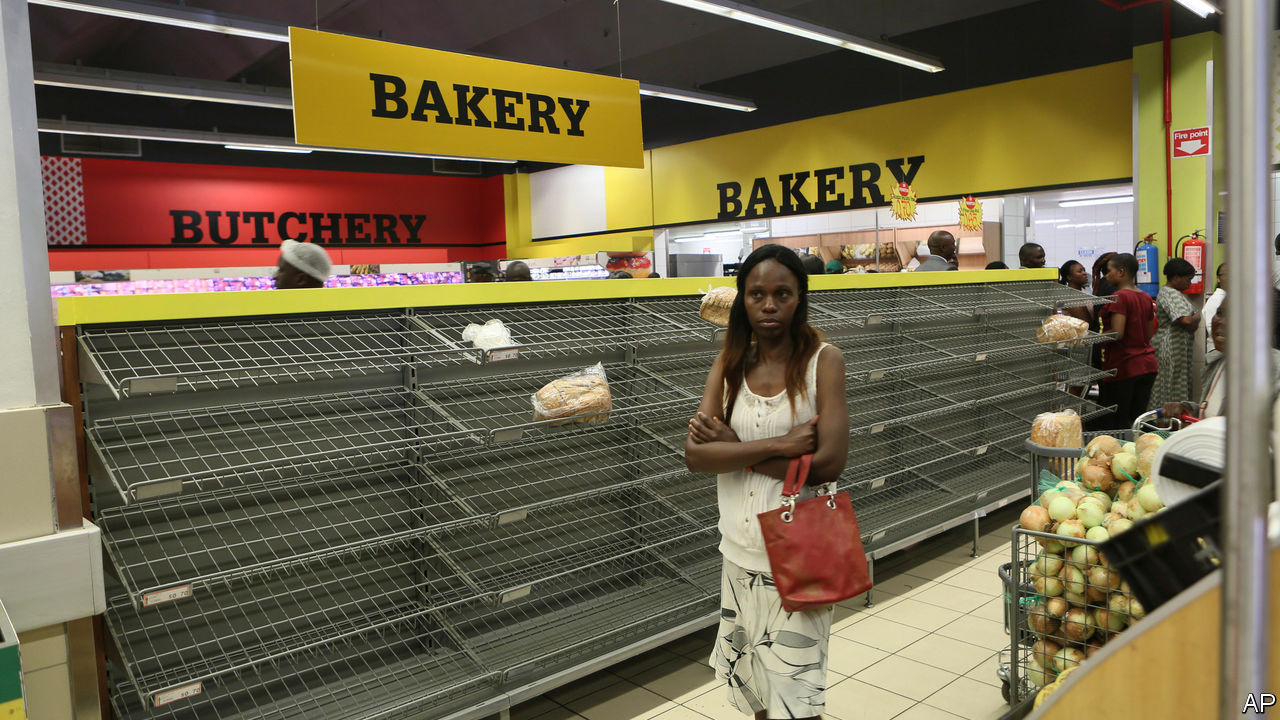 Zimbabwe's shops are empty and prices are soaring