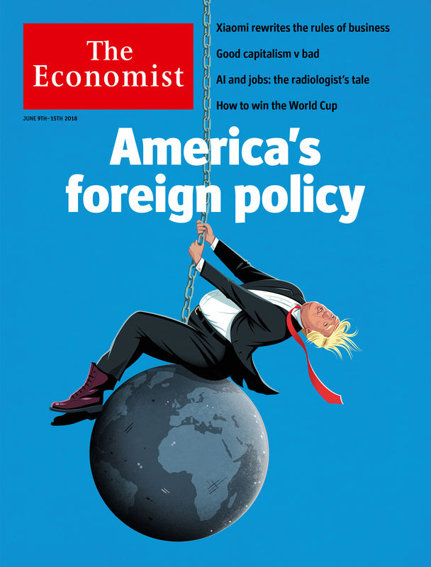 the economist s editors pick the ten covers that define 2018 the