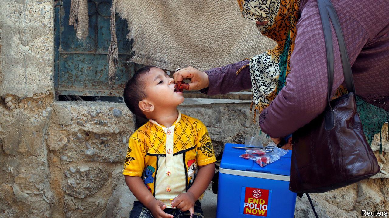 Progress on eradicating polio has stalled