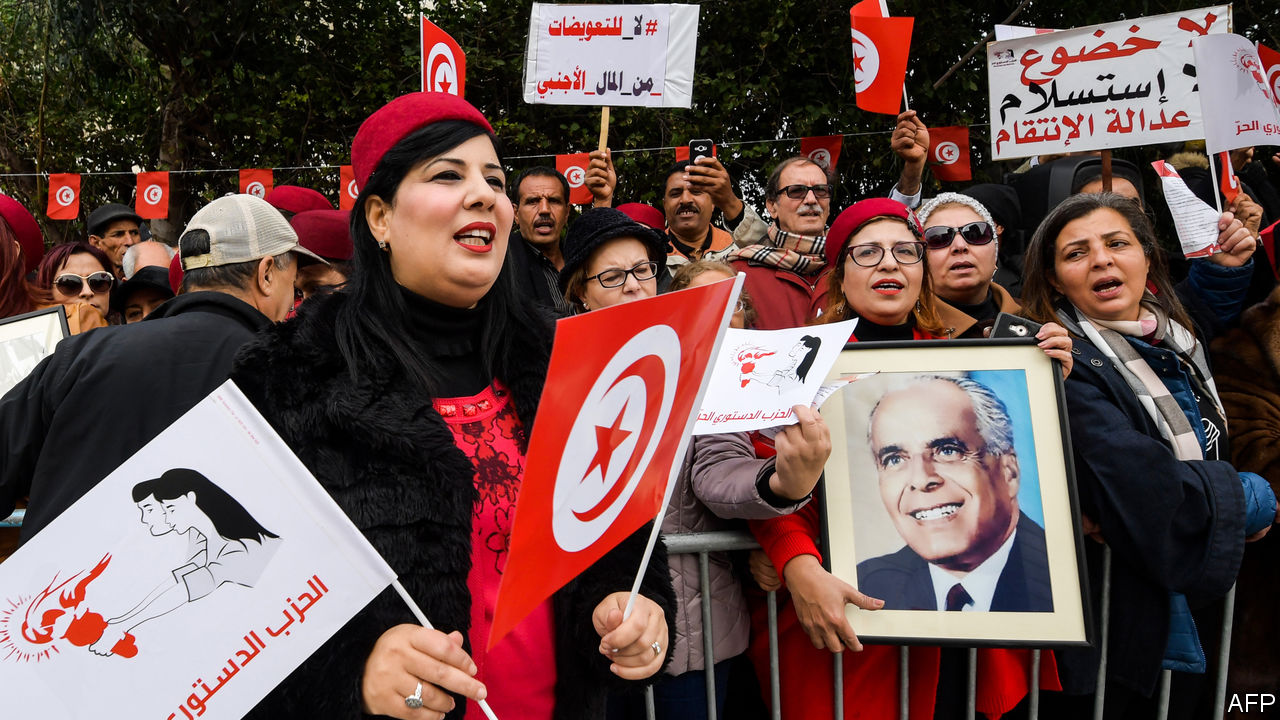 Unlike other Arab regimes, Tunisia's remembers old crimes