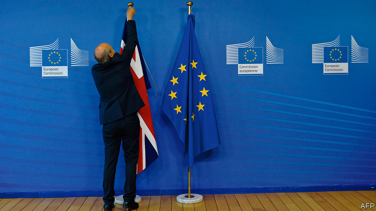 Last days of the British Eurocrats