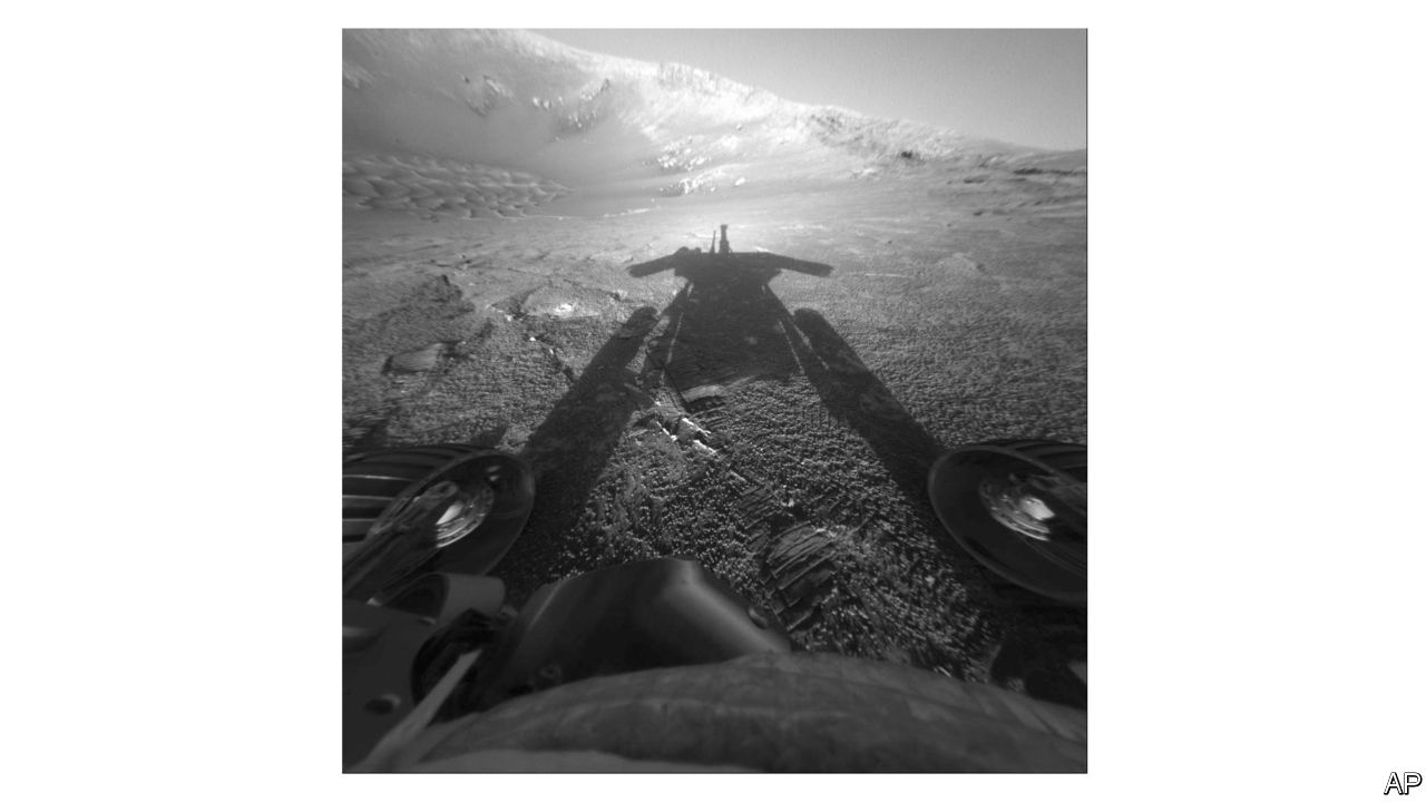 Obituary: Opportunity, a rover on Mars, was declared lost on February 12th