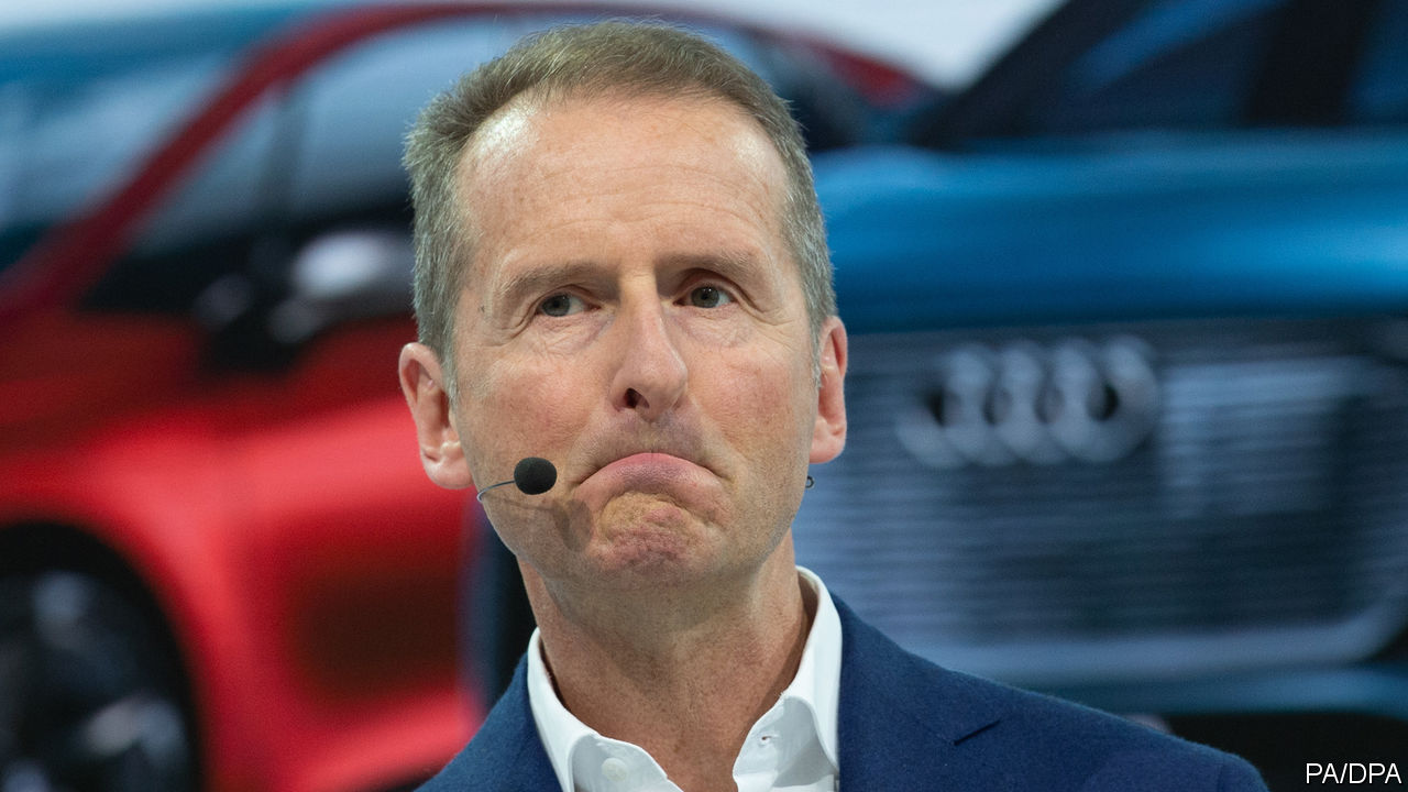VW's newish boss is going full-steam ahead with electric cars