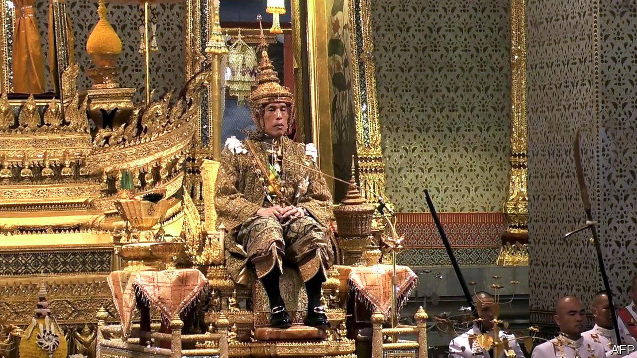King Vajiralongkorn Of Thailand Is Crowned