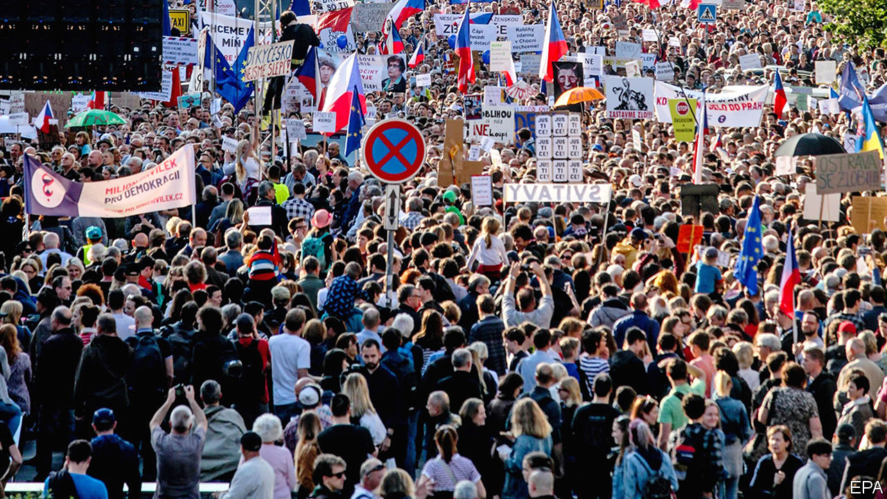 Can protesters bring down the Czech prime minister?