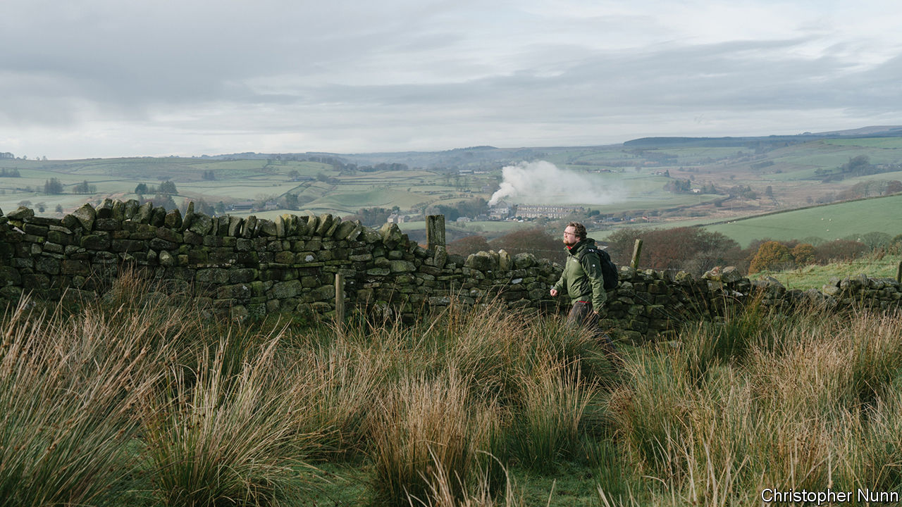 Walking the wall: my Brexit hike in northern England