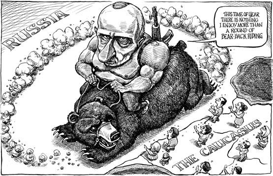 The Iron Curtain. Kal S Cartoon The Economist