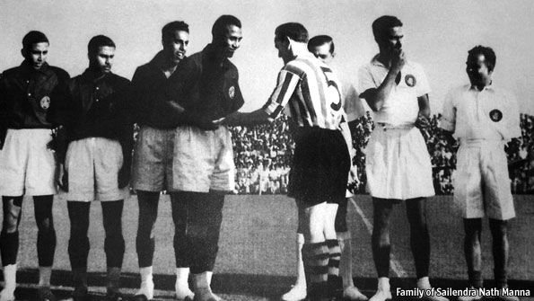 Resultado de imagen para india football buckingham 1948