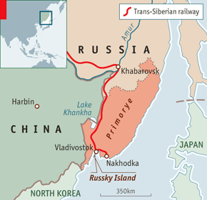 A bridge to asia russias far east but he is said to lack ties and authority with local elites that undergird politics and business in russias far east publicscrutiny Gallery