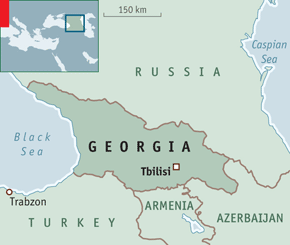 Soviet Georgia Map.Bad Location Georgia S History