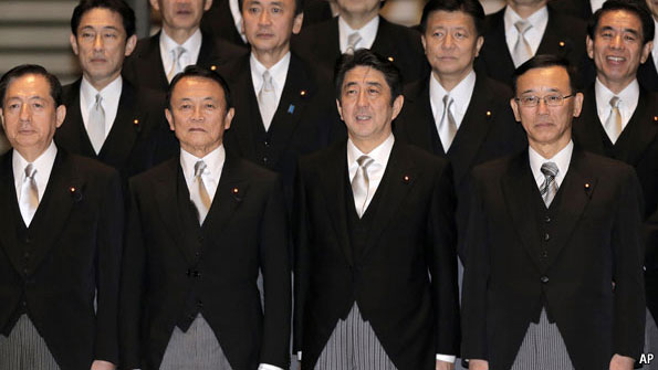 Back to the future - Japan's new cabinet